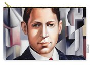 L'homme D'affaire Carry-all Pouch by Catherine Abel
