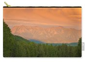 Liard River Valley Alaska Highway Bc Canada Sunset Carry-all Pouch