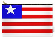 Liberia Flag Carry-all Pouch
