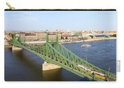 Liberty Bridge And Budapest Skyline Carry-all Pouch