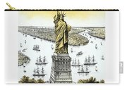 Liberty Enlightening The World  Carry-all Pouch by War Is Hell Store
