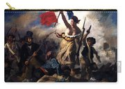 Liberty Leading The People During The French Revolution Carry-all Pouch