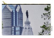 Liberty Place And City Hall Carry-all Pouch