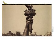 Liberty Torch At Philadelphia For Us Centennial 1876 Carry-all Pouch