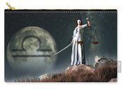 Libra Zodiac Symbol Carry-all Pouch