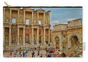 Library Of Celsus In Ephesus-turkey Carry-all Pouch