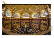 Library Of Congress Main Reading Room Carry-all Pouch