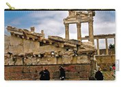 Library On The Pergamum Acropolis-turkey Carry-all Pouch
