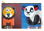 License Plate Art Jungle Animals Series 1 Carry-all Pouch