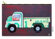 License Plate Art Pickup Truck Carry-all Pouch