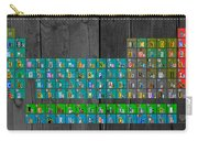 License Plate Art Recycled Periodic Table Of The Elements By Design Turnpike Carry-all Pouch
