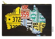 License Plate Map Of Australia Carry-all Pouch