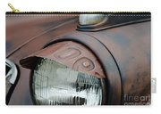 License Tag Eyebrow Headlight Cover  Carry-all Pouch by Wilma  Birdwell