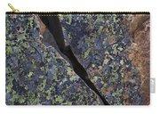Lichen On Granite Carry-all Pouch by Heiko Koehrer-Wagner