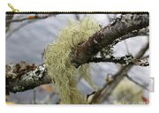 Lichen On Tree Carry-all Pouch