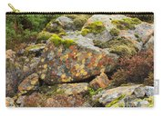 Lichens And Moss In Glen Strathfarrar Carry-all Pouch
