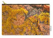 Lichens On The Shoreline Rocks 2 Carry-all Pouch