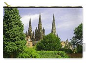 Lichfield Cathedral From The Garden Carry-all Pouch