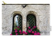 Lichtenstein Castle Windows Wall And Antlers - Germany Carry-all Pouch