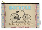 Life-bicycle Carry-all Pouch