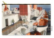 Life Boats 01 Queen Mary Ocean Liner Port Long Beach Ca Carry-all Pouch