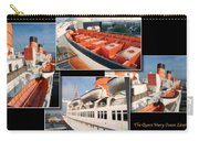 Life Boats Collage Queen Mary Ocean Liner Long Beach Ca Carry-all Pouch