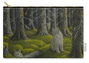Life In The Woodland Carry-all Pouch by Veikko Suikkanen