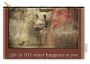 Life Is Moments Of Camouflage Carry-all Pouch