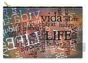 Life Letters Two Carry-all Pouch
