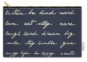 Life Matters Carry-all Pouch