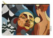 Life Of Roy Painting With Hidden Pictures Carry-all Pouch