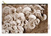 Life On The Rocks In Sepia Carry-all Pouch