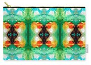 Life Patterns 1 - Abstract Art By Sharon Cummings Carry-all Pouch