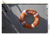 Life Ring Uss Iowa Battleship Carry-all Pouch