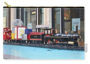 Life Size Toy Train Set In Nyc Carry-all Pouch
