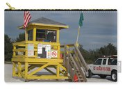 Lifeguard And Beachpatrol Carry-all Pouch