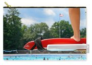 Lifeguard Watches Swimmers Carry-all Pouch