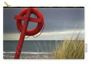 Lifesaver On The Beach Carry-all Pouch