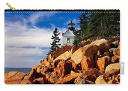 Light At Bass Harbor Carry-all Pouch