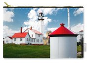 Light At Whitefish Point Carry-all Pouch