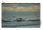 Light Blue Waves Carry-all Pouch