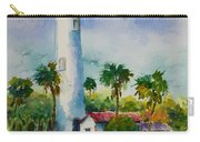 Light House At The Beach Carry-all Pouch