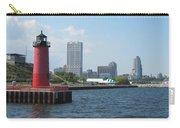 Light House Milwaukee Skyline 1 Carry-all Pouch