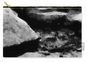 Light In The Stream Bw Carry-all Pouch