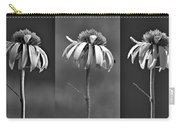 Light Of Day In Black And White Carry-all Pouch