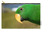 Light Of Love - Eclectus Parrot Carry-all Pouch