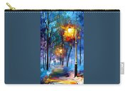 Light Of Luck - Palette Knife Oil Painting On Canvas By Leonid Afremov Carry-all Pouch