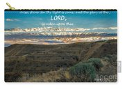 Light Of The Lord Carry-all Pouch