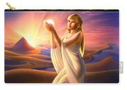 Light Of The Sands Carry-all Pouch