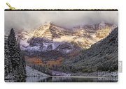 Light On Maroon Bells Carry-all Pouch